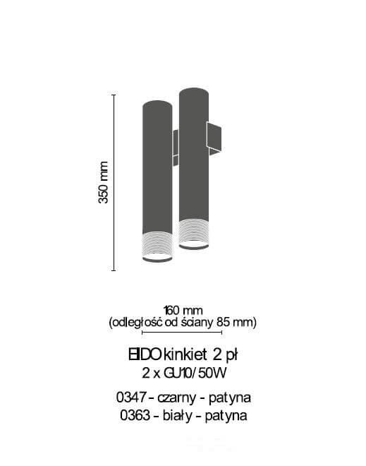 Бра Amplex EIDO 0363