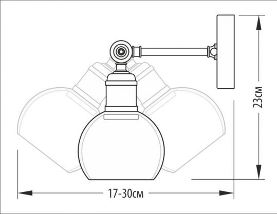 Бра Pikart 388-1