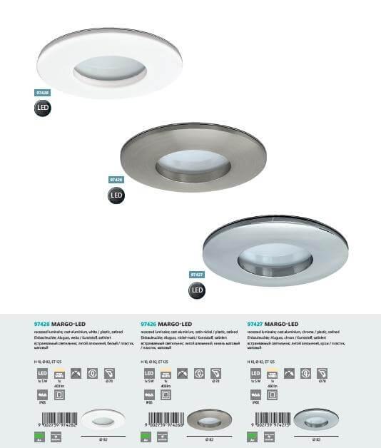 Точечный светильник Eglo MARGO-LED 97426