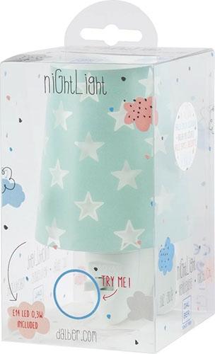 Детский ночник в розетку Dalber Stars Green 81215H