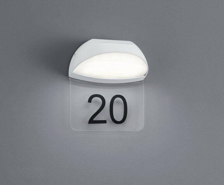 Настінний вуличний світильник TRIO MUGA 228360101