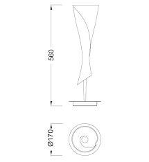 Настільна лампа Mantra ZACK 0774