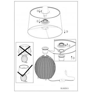 Настільна лампа Eglo ROIA 92913