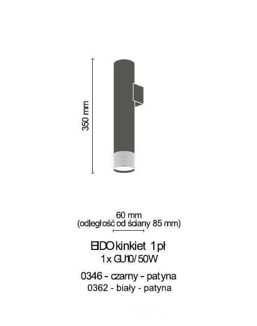 Бра Amplex EIDO 0362