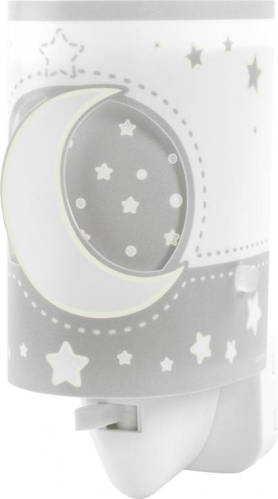 Детский ночник в розетку Dalber MOONLIGHT Grey 63235LE