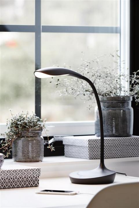 Настольная лампа Markslojd SWAN USB 106094