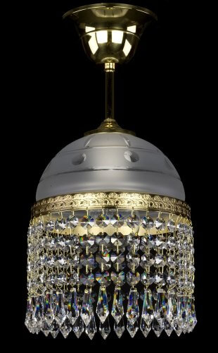 Люстра ArtGlass CASSANDRA I. (POLISHED, BRASS ANTIQUE, WHITE GOLD, MATT BRASS) CE