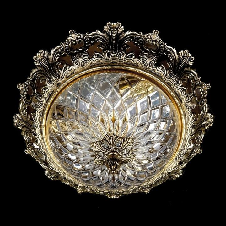 Люстра ArtGlass CHARLIZE DIA 390 (POLISHED, BRASS ANTIQUE, WHITE GOLD, MATT BRASS)