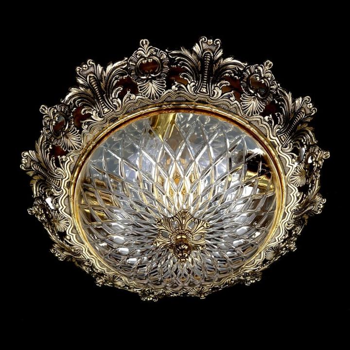 Люстра ArtGlass CHARLIZE DIA 470 (POLISHED, BRASS ANTIQUE, WHITE GOLD, MATT BRASS)