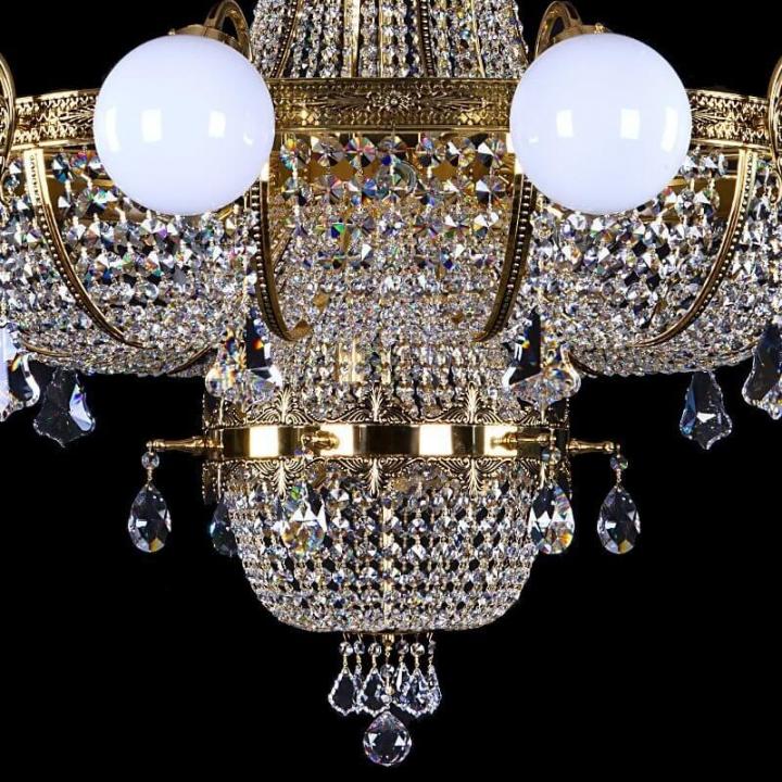 Люстра ArtGlass EURYDIKA 1600x1450 (POLISHED, BRASS ANTIQUE, WHITE GOLD, MATT BRASS) CE