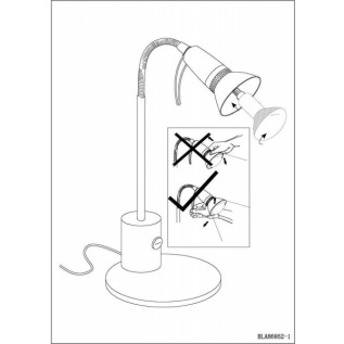 Настільна лампа Eglo FOX 1 86955