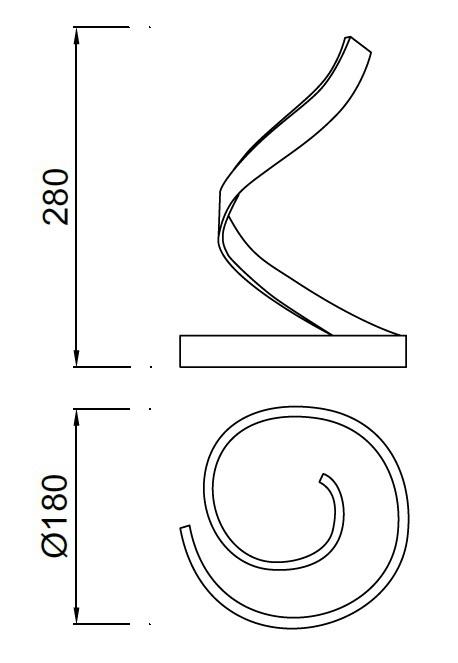 Настільна лампа Mantra NUR 5366