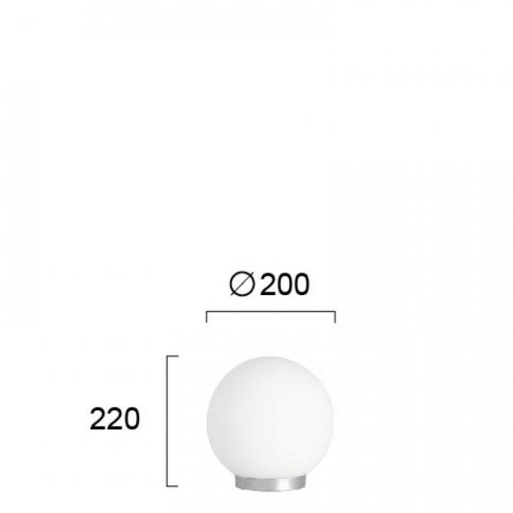 Настільна лампа Viokef ROUND 380000