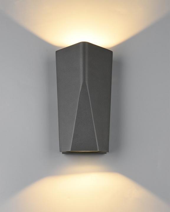 Настінний вуличний світильник TRIO TAY 226560242
