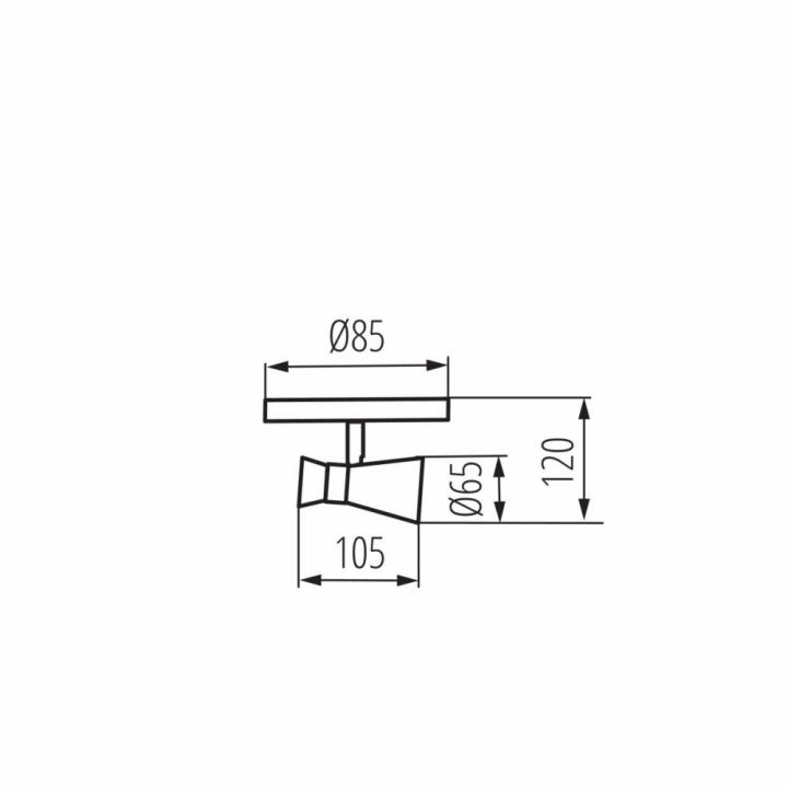 Бра Kanlux MILENO EL-1O B-AG 29110