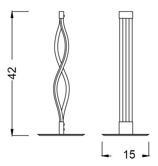 Настільна лампа Mantra SAHARA 5402