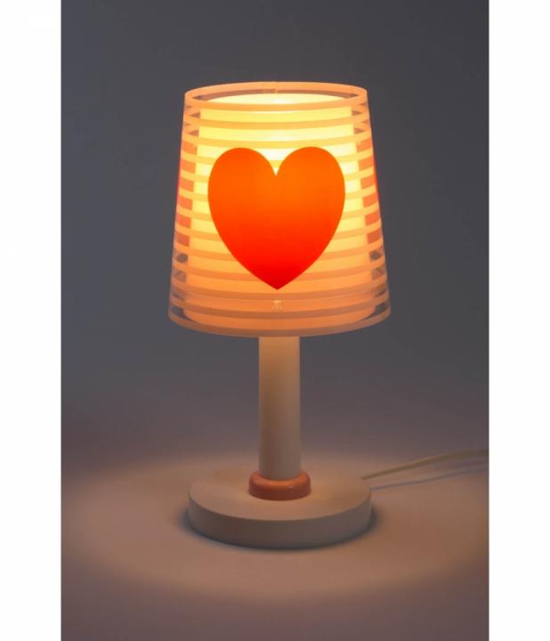 Настільна лампа Dalber LIGHT FEELING PINK 81191S