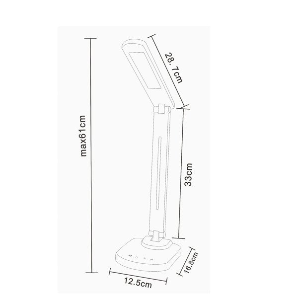 Настольная лампа Zuma Line TABLE LAMP 1601