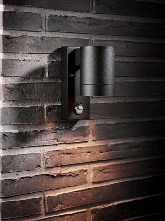 Настінний вуличний світильник Nordlux Tin Maxi Sensor 21509103