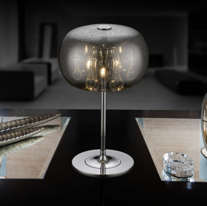 Настільна лампа Zuma Line RAIN T0076-03D-F4K9