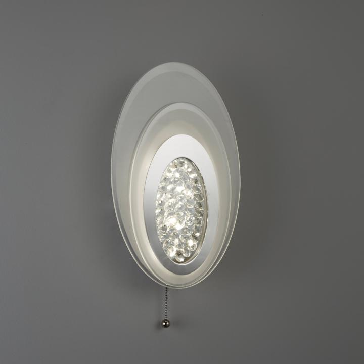 Бра Searchlight LED WALL 6482CC
