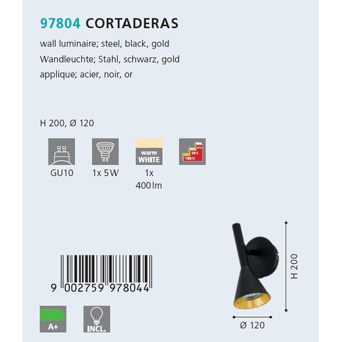 Бра Eglo CORTADERAS 97804