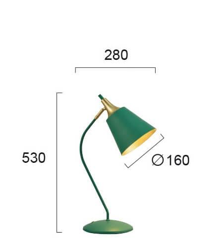 Настільна лампа Viokef MENTA 4241700