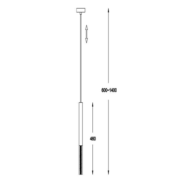 Люстра Zuma Line ONE P0461-01E-S8S8