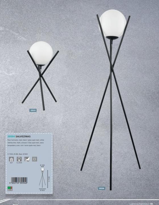 Настільна лампа Eglo SALVEZINAS 39593