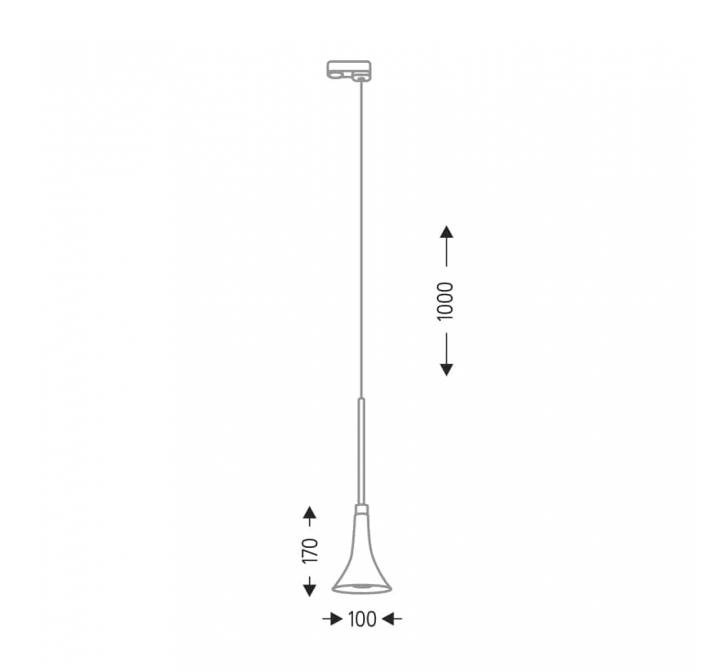 Трековый светильник SHILO KANZAKI 7960