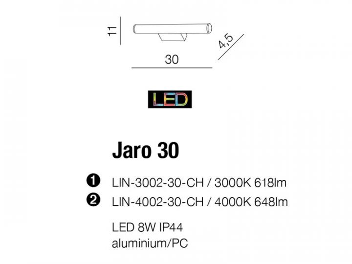 Бра AZzardo JARO 30 AZ2091 (LIN300230CH )