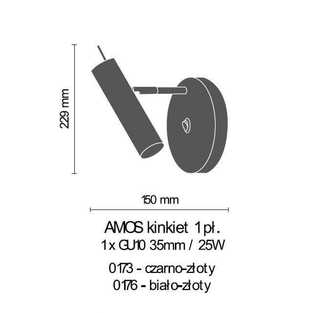 Бра Amplex AMOS 0176