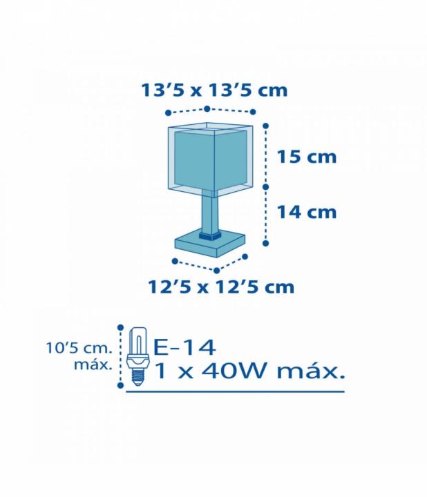 Настільна лампа Dalber PETIT MARIN 43421