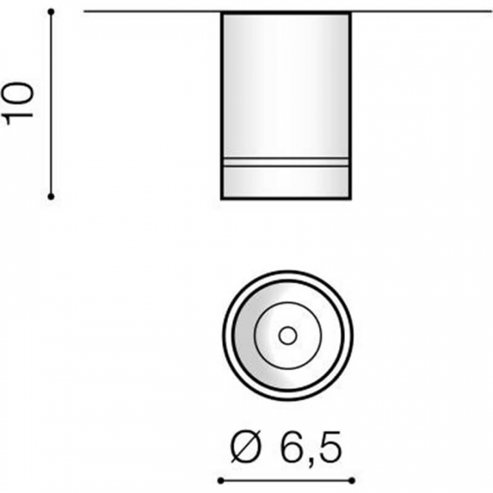 Точечный светильник AZzardo BILL 10W AZ3376