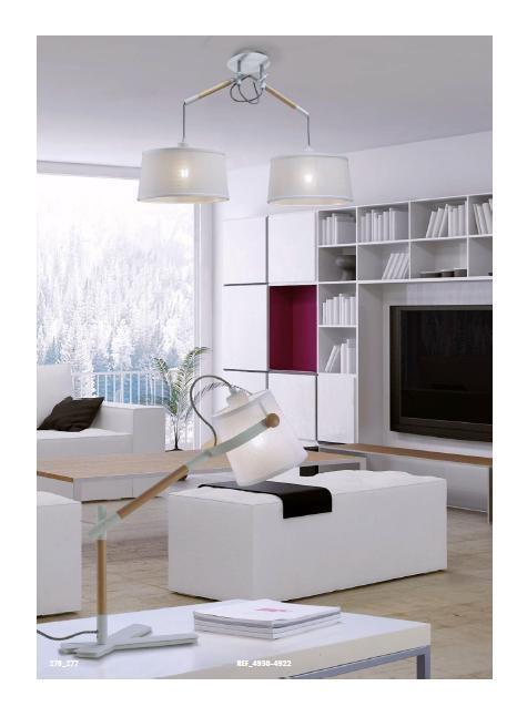 Настільна лампа Mantra NORDICA 4922
