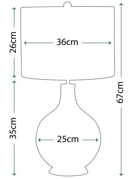 Настільна лампа Elstead ORB CLEAR ORB/TL CLEAR