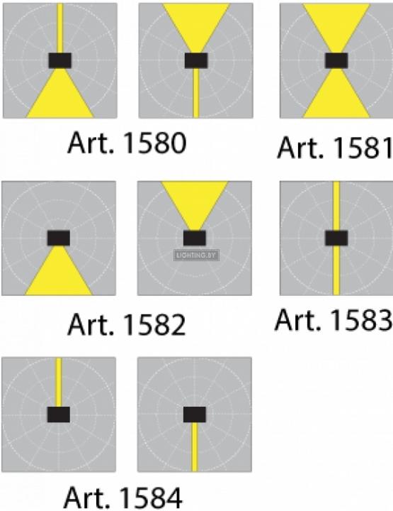 Настенный уличный светильник Norlys Lillehammer 1582B