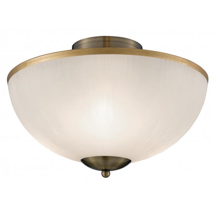 Потолочный светильник Searchlight Flush 6580AB