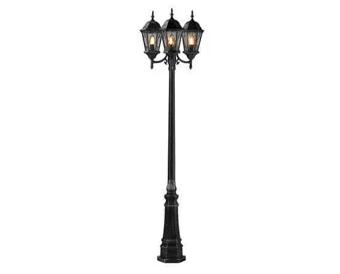 Уличные фонари и столбики