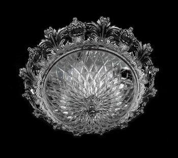 Люстра ArtGlass CHARLIZE DIA 470 (NICKEL, NICKEL ANTIQUE)